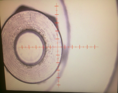 Długościomierz wideoskopowy widok