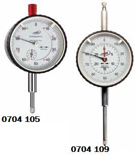 Czujnik zegarowy pomiarowy wstrząsoodporny Helios Preisser 0704105