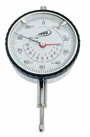 Czujnik zegarowy pomiarowy z koncentrycznym wyświetlaczem Helios Preisser 0702106