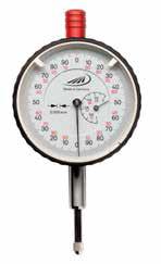 Czujnik zegarowy pomiarowy z odczytem 0,001mm Helios Preisser 0705102