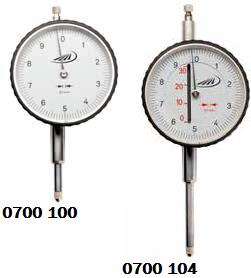 Czujnik zegarowy pomiarowy z odczytem 0,1mm Helios Preisser 0700100