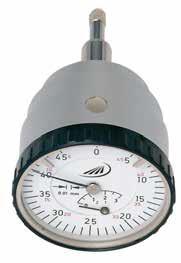 Czujnik zegarowy pomiarowy z odczytem górnym Helios Preisser 0709101