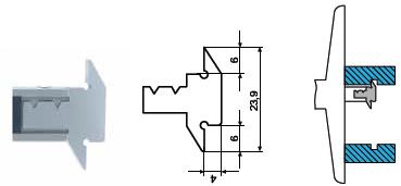 Końcówka pomiarowa do głębokościomierza Helios preisser 1279780