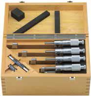 Mikrometr analogowy Helios Preisser 0806540 zestaw