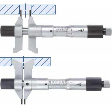 Mikrometr do pomiarów wewnętrznych dwustronny Helios Preisser 0884501