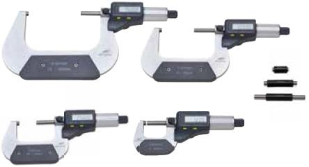 Mikrometr elektroniczny Helios Preisser 0912521 zestaw