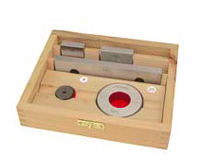 zestaw kontrolny do sprawdzania suwmiarek