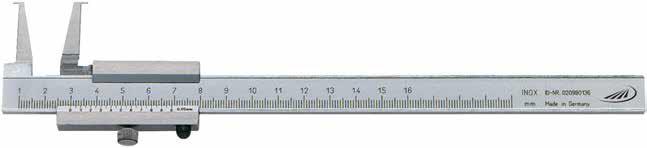 Suwmiarka specjalna Helios Preisser do pomiaru rowków wewnętrznych 0258501