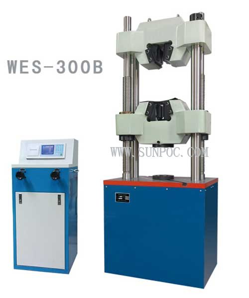 hydrauliczna maszyna wytrzymałościowa WES-B LCD