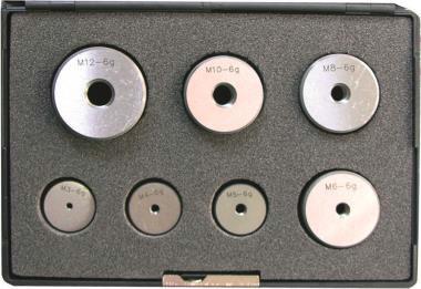 sprawdziany pierścieniowe gwintu zestaw M3M4